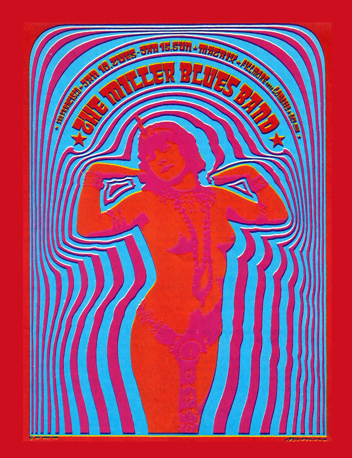psychedelic poster art victor moscoso victor moscoso